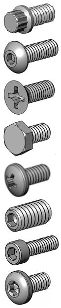 Inconel Screws