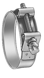 Titanium Heavy Duty Hose Clamps